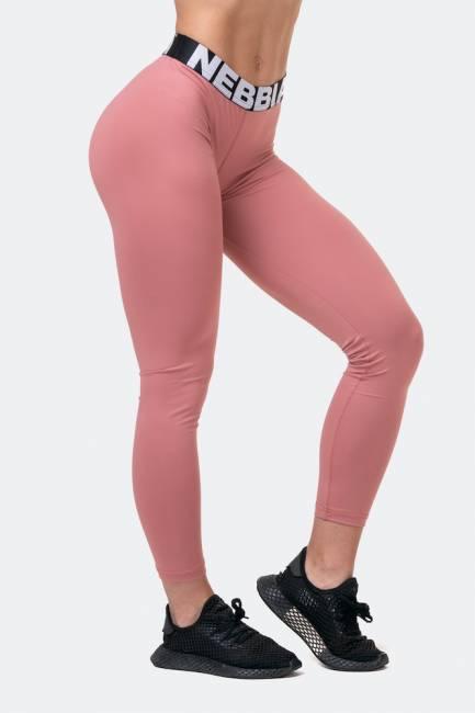 NEBBIA Squat Hero Scrunch Butt Leggings - Old Rose