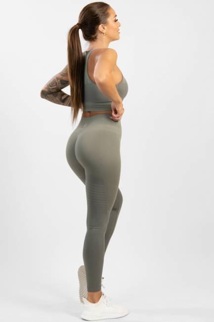 Gavelo Seamless Leggings Pulse Nude Olive Grey