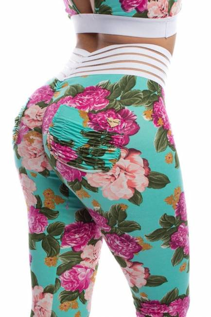 Smell The Roses (Cute Booty) Lifestyle Leggings