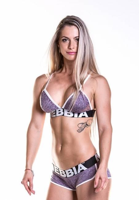 NEBBIA Fitness Top Purple