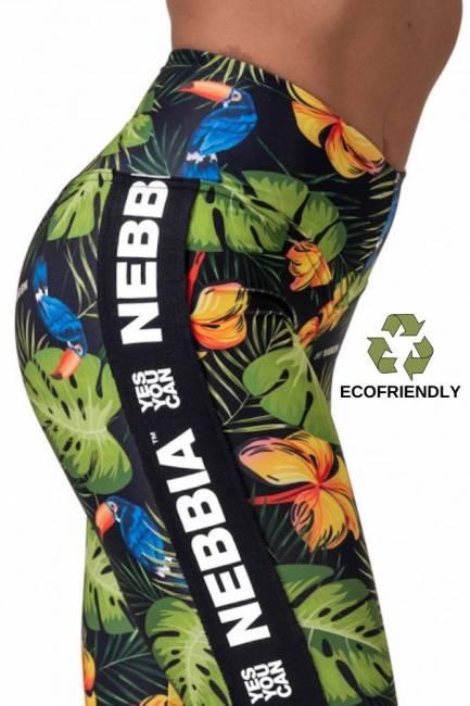 NEBBIA Fitness Leggings High Waist Performance - Green