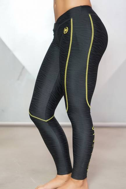 Body Engineers Leggings Lotus Wave