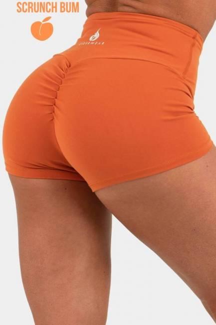 Ryderwear Animal Scrunch Bum Shorts - Rust