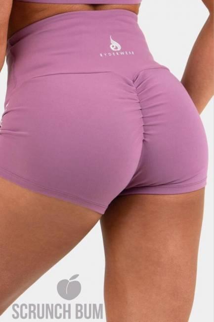 Ryderwear Animal Scrunch Bum Shorts - Purple