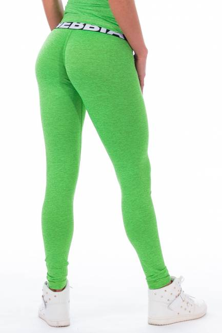 NEBBIA Scrunch Leggings Green