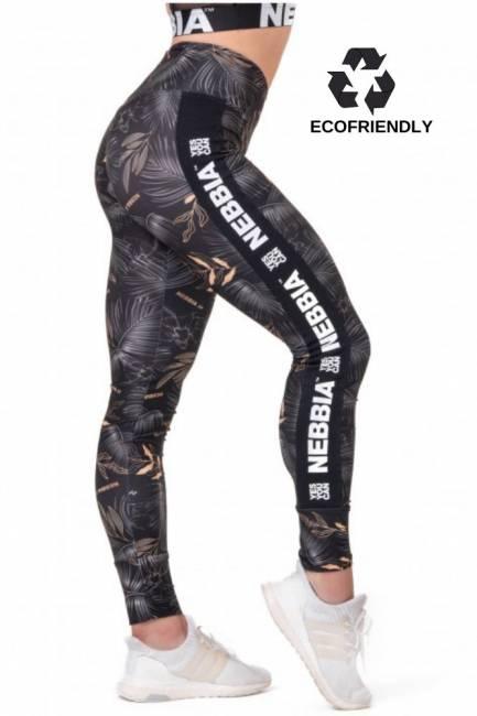 NEBBIA Fitness Leggings High Waist Performance - Black