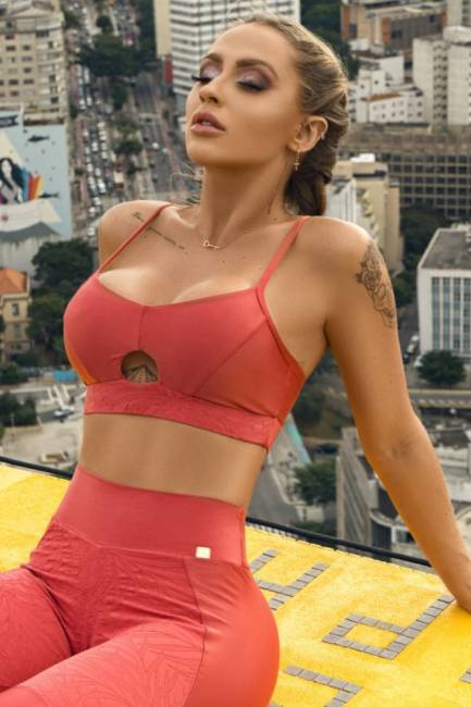 Let´s Gym Fitness Top Lush Coral