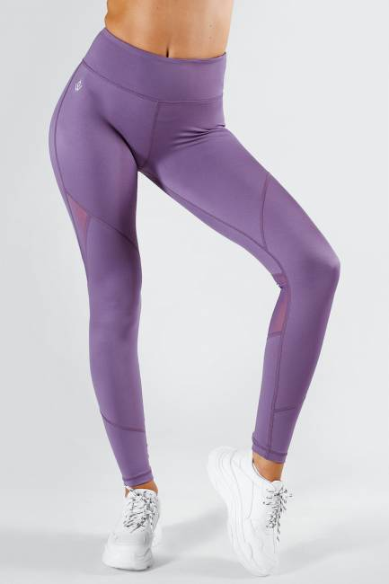 Workout Empire Core Tech Tights Violet Purple