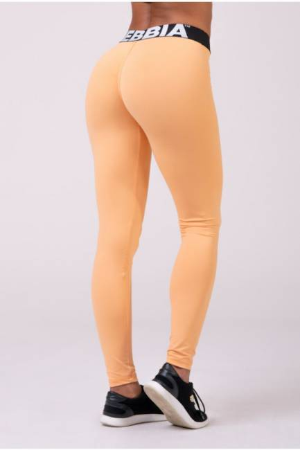 NEBBIA Leggings Squad Hero Scrunch Butt Apricot